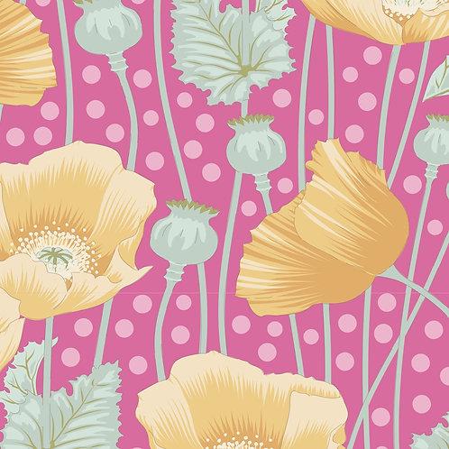 Poppies Pink  | Garden Life Collection | Tilda