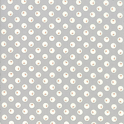 Snowmen in Dusty Grey | Country Christmas | Moda Fabric
