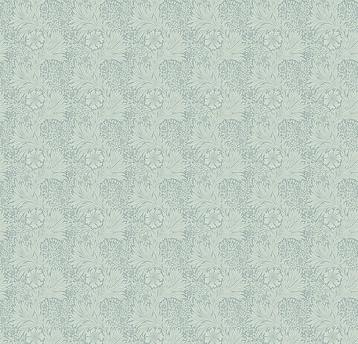 Marigold Aqua | Kelmscott Collection | Free Spirit Fabrics