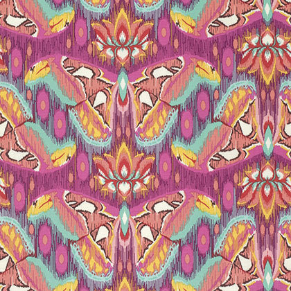Atlas in Tourmaline | Tula Pink Greatest Hits Collection | Free Spirit Fabrics