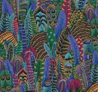 Feathers Multi | Kaffe Fassett Collective | Free Spirit Fabrics