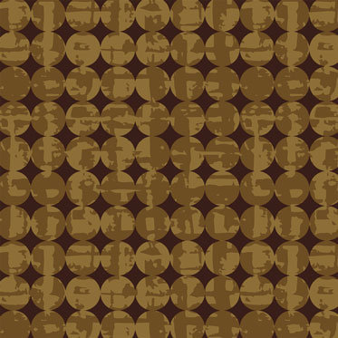Smudge and Circles Buckskin  | Pottery Collection | Windham Fabrics