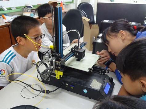 107.1 M.A.D自造科學營- 3D 麥塊公仔