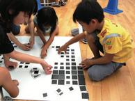 愛知県児童総合センター企画 アートと遊びと子どもをつなぐメディアプログラム 「数の顔写真」