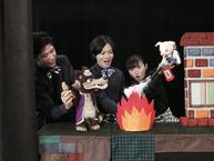防災ジャパンダプロジェクト防災人形劇「さんびきのこぶた危機一髪!」&体験型防災ワークショップ