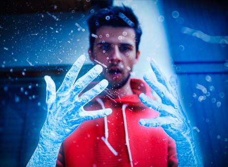 Frozen Hands Photo Manipulation