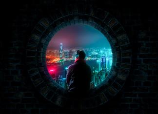 Watching City At Night