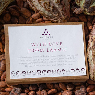 Шоколадные деликатесы ручной работы от роскошного курорта Six Senses Laamu, Мальдивы