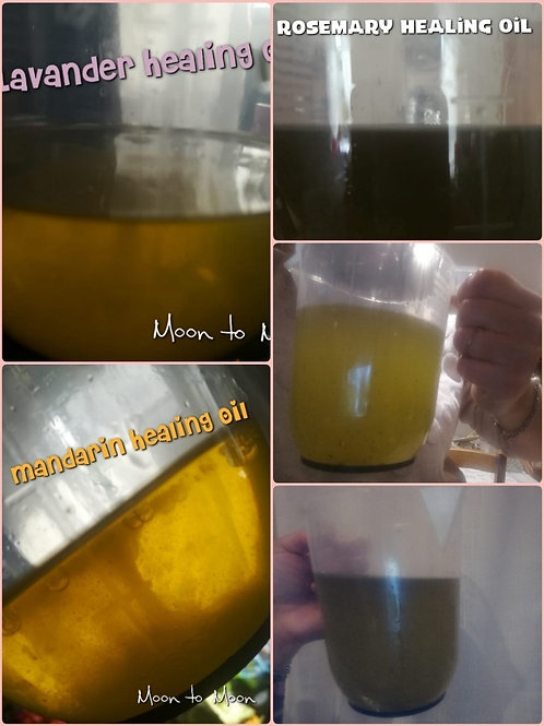 100% organic healing oil