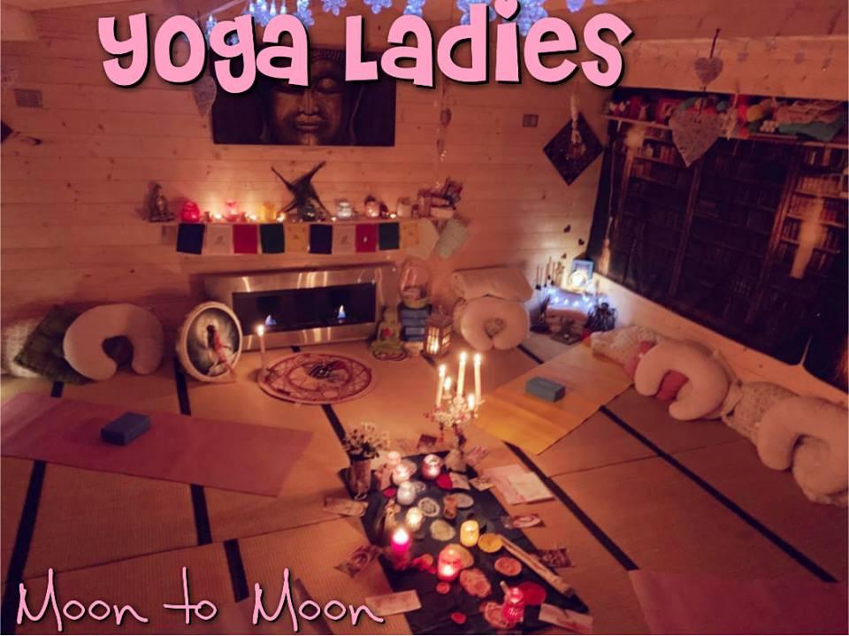 yoga ladies room