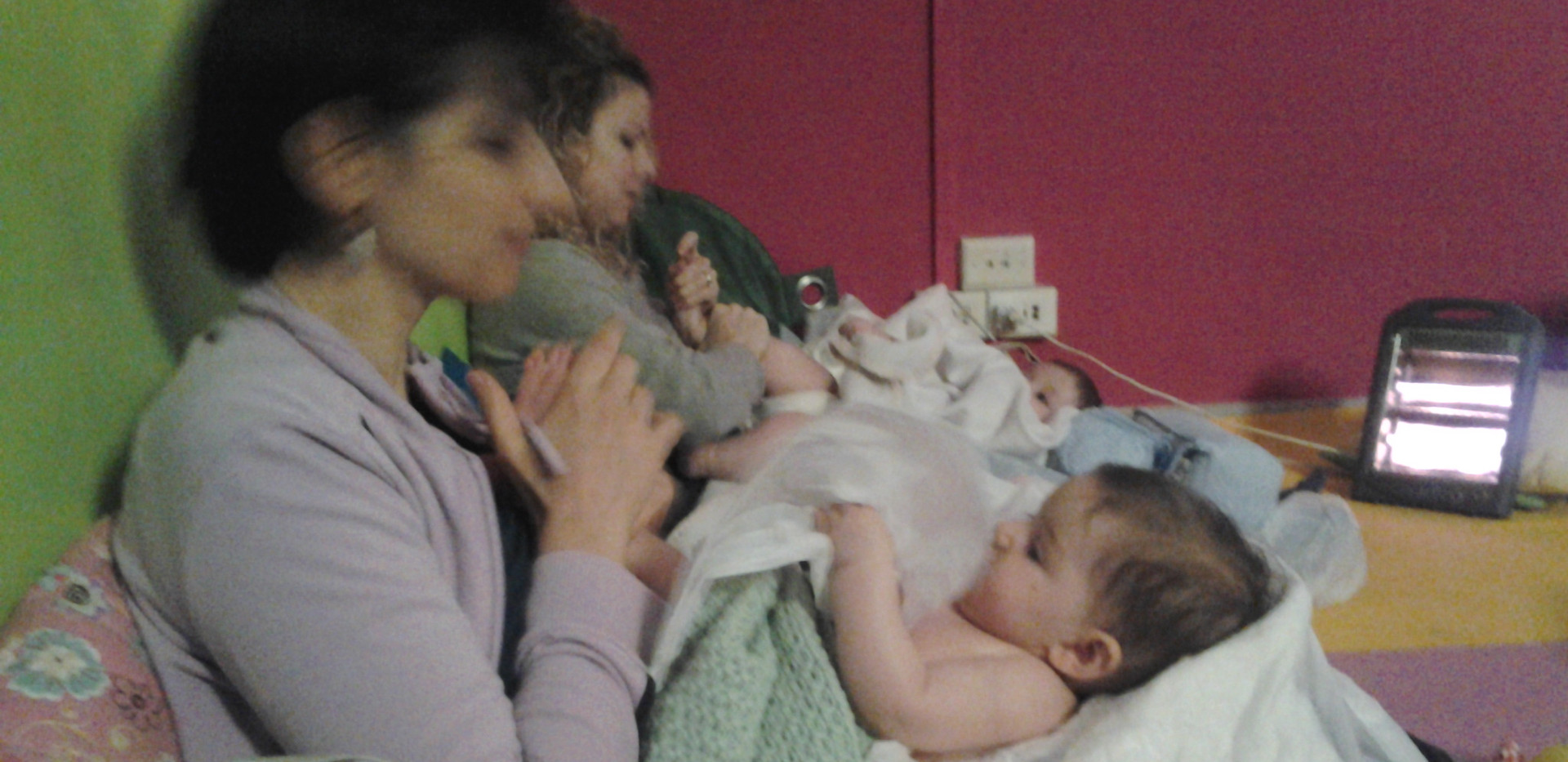 baby massage for mom ...
