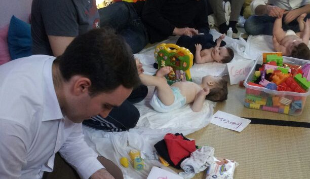 baby massage second baby ..
