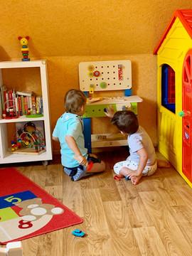 Spielzimmer bei Tagesmutter