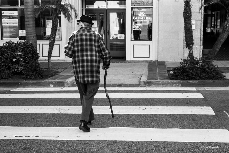 Man With Eccentric Stick