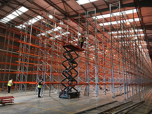 Assure Build Pallet racking installation