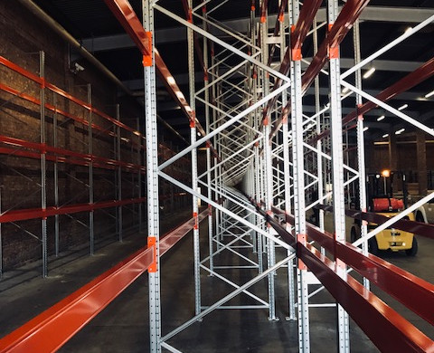 Pallet Racking Installation - Project Updates