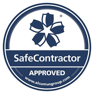 Seal colour SafeContractor Sticker - Cop