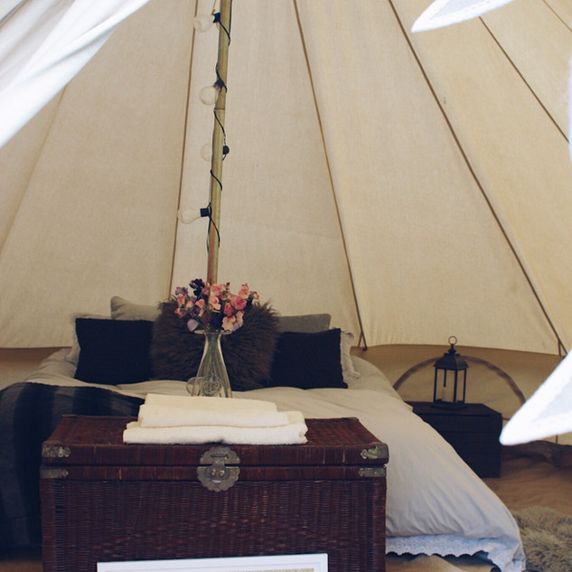 glamped up bell tent furnished package.j
