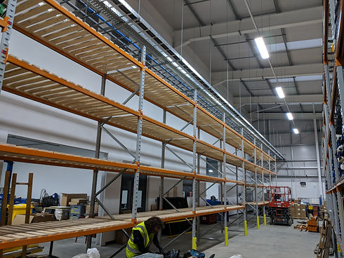 Assure Build pallet racking repairs inst