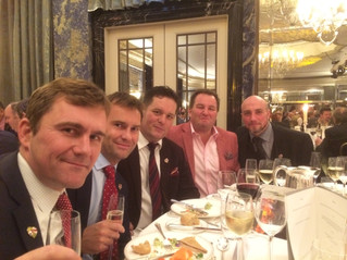 Christmas Party at the Dorchester