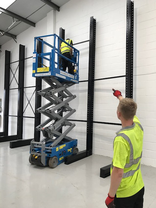 Cantilever SEIRS Racking Installation