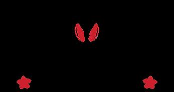 Cowboy Jacks vector logo black with red