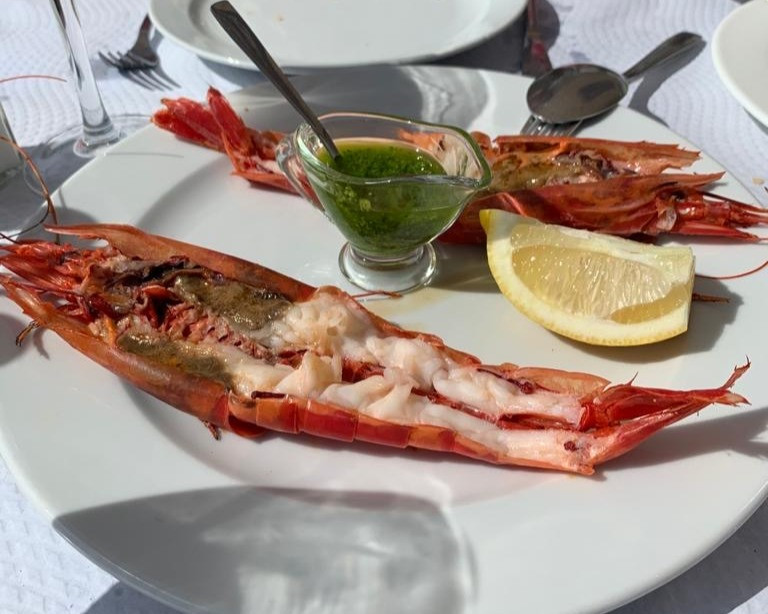 Simple seafood is what is done best at Bar Altamirano in the old town on Altamirano square next to Zozoi.