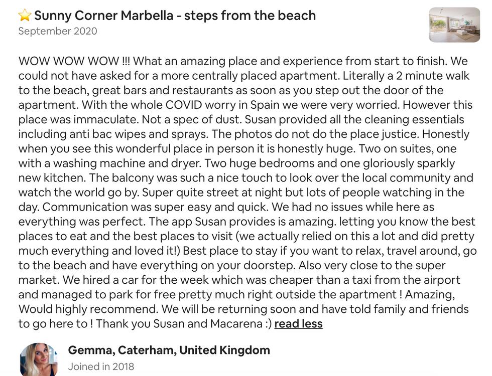 5 star apartment Marbella center