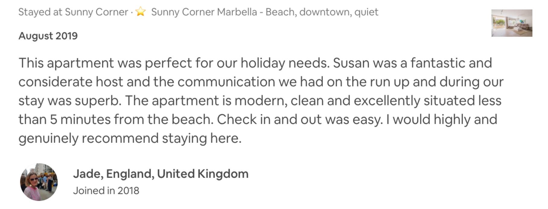 mejor piso de playa de marbella