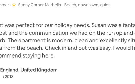 #sunnycornermarbella beach apartment