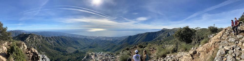 Hike near marbella half day excursion