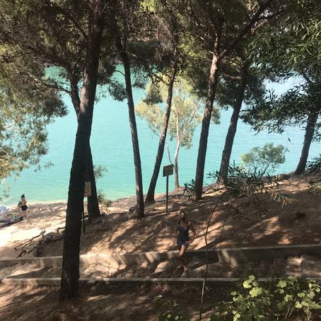 A day at the lake El Chorro