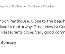 Honeymoon Penthouse Ferienwohnung