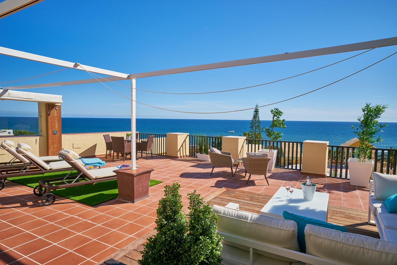 309 spacious terrace avenida jardines de