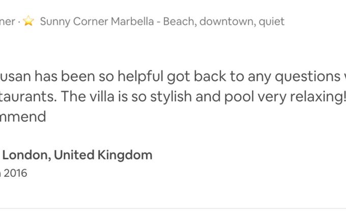 #sunnycornermarbella best apartment near the beach downtown