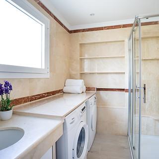 58  apartemento limpio equipado bano lav