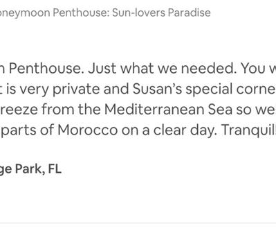 Honeymoon Penthouse where to stay in Elviria