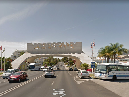 How to take the bus from Malaga Airport AGP to Marbella