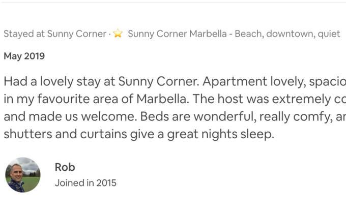 Airbnb superhost fontanilla