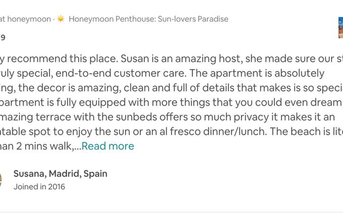 Honeymoon Penthouse best terrace in Elviria