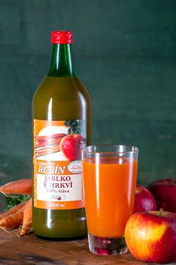 Lažanský Rubín - Jablko s mrkví 100%