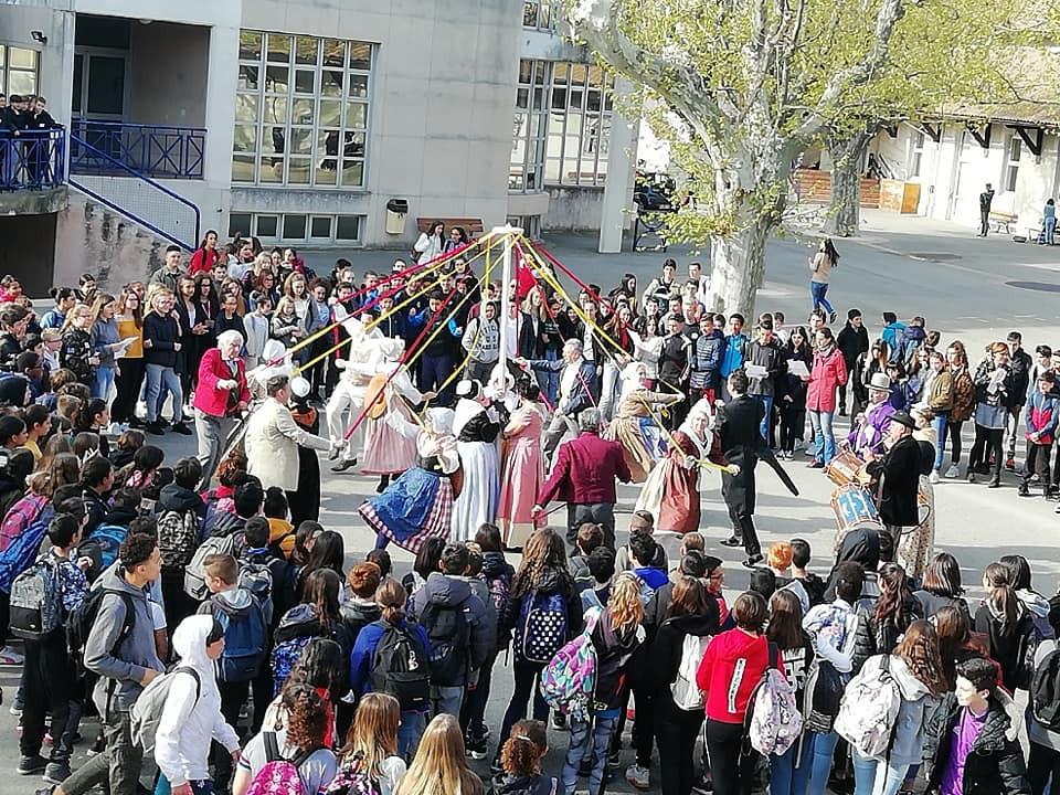 danse des cordelles college Pasteur