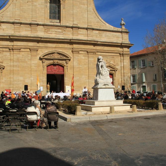 LAMBESC - Messe de la Saint Eldrad