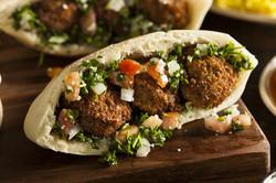 Healthy Vegetarian Falafel Pita.jpg