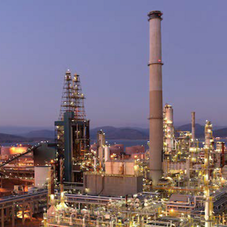MEG Testing at Mongstad Refinery