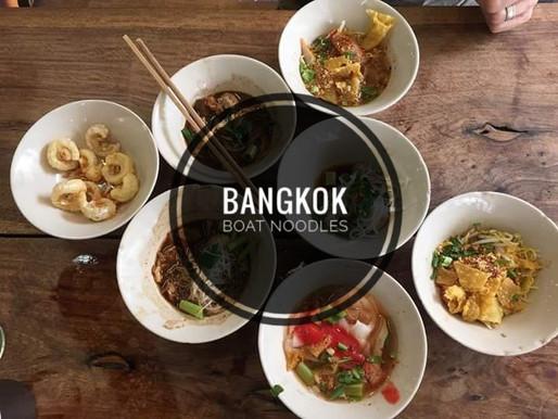 Thai Boat Noodles – Street Food Bangkok