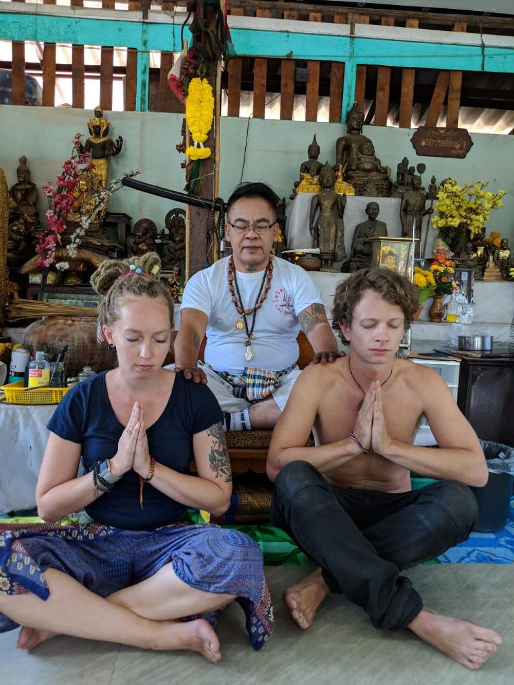 Sak Yant Tattoo Ayutthaya