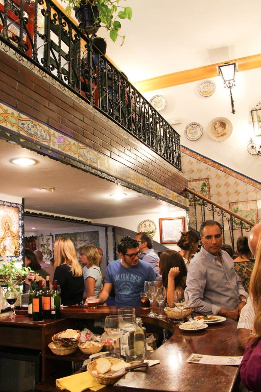 Amazing tapas bar hidden in an alley