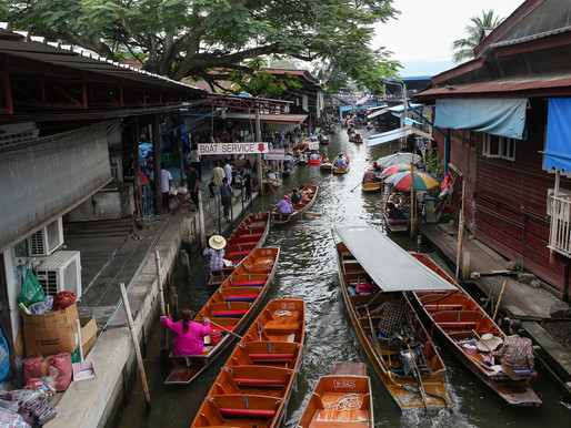 The Floating Market in Damnoen Saduak – Bangkok Day Trips