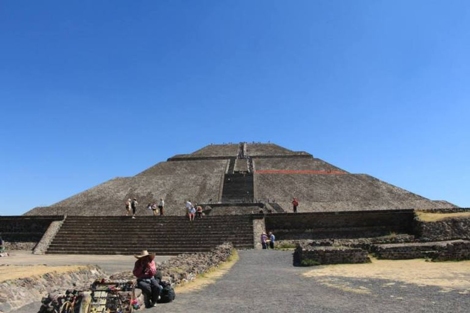 Temple of the Sun Teotihuacan